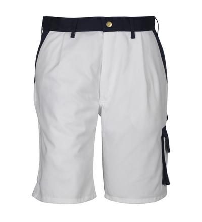 MASCOT® Lido - hvit/marine*/¹) - Shorts, god slitestyrke