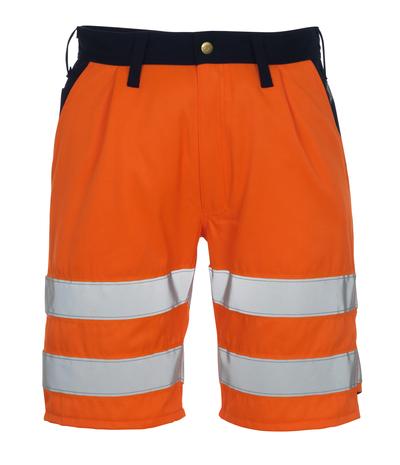 MASCOT® Lido - hi-vis oransje/marine* - Shorts, klasse 1/2