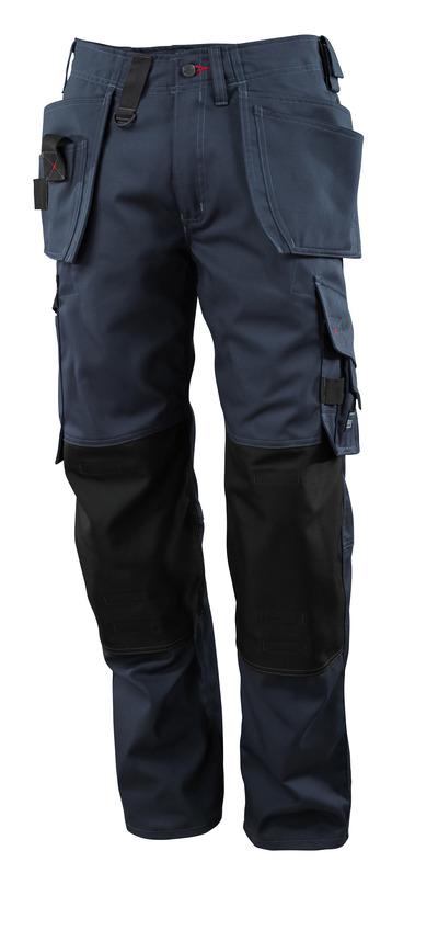 MASCOT® Lindos - mørk marine - Bukser med CORDURA®-knelommer og hengelommer, lav vekt