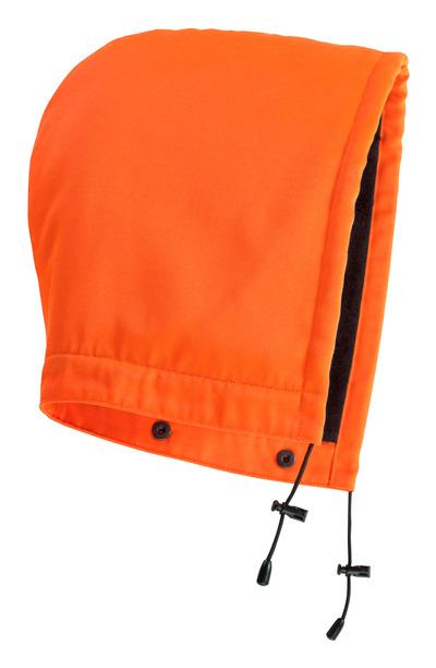 MASCOT® MacAllen - hi-vis oransje - Hette med trykknapper og fôr, vannavvisende