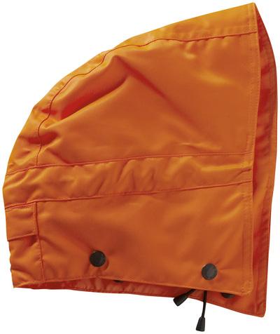 MASCOT® MacCall - hi-vis oransje - Hette med trykknapper og fôr, vanntett