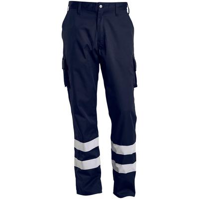 MACMICHAEL® MacMichael - mørk marine - Bukser med lårlommer, refleksbånd, lav vekt