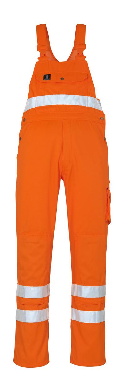 MASCOT® Maine - hi-vis oransje* - Overall med knelommer