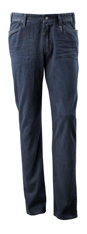 MASCOT® Manhattan - vasket mørk blå denim¹) - Jeans