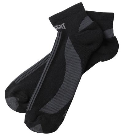 MASCOT® Maseru - svart/mørk antrasitt - Sokker, kort modell, fukttransporterende