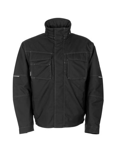 MASCOT® Mataro - svart - Pilotjakke med quiltfôr, vanntett MASCOTEX®