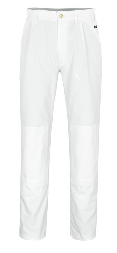 MASCOT® Michigan - hvit* - Bukser med knelommer
