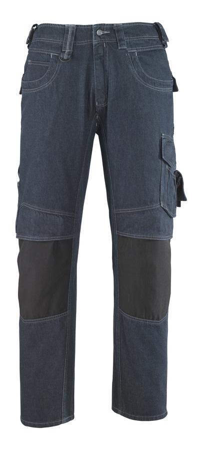 MASCOT® Milton - denimblå* - Jeans med knelommer