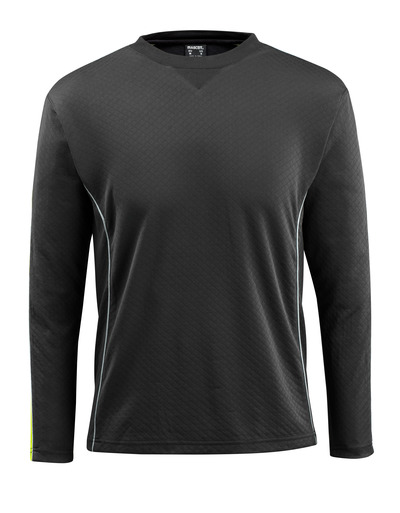 MASCOT® Montilla - svart/hi-vis gul - T-skjorte