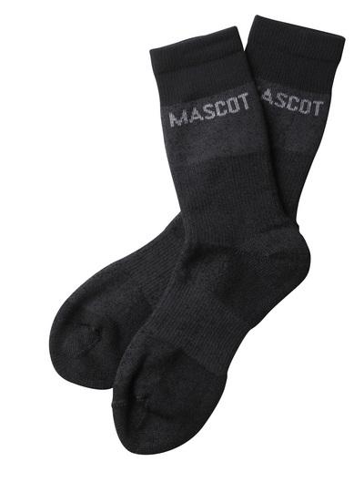 MASCOT® Moshi - mørk antrasitt melert - Sokker, fukttransporterende