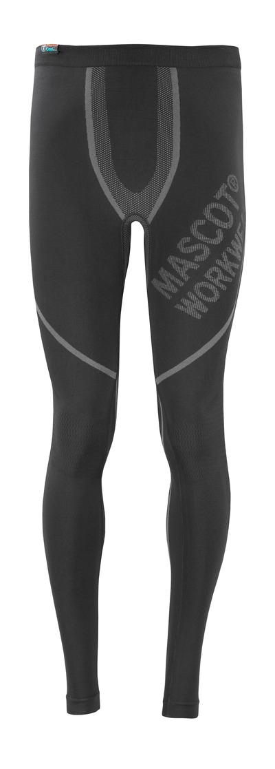MASCOT® Moss - svart - Termounderbukse