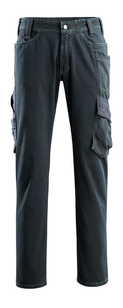MASCOT® Navia - mørk blå denim - Jeans med lårlommer, ekstra høy slitestyrke