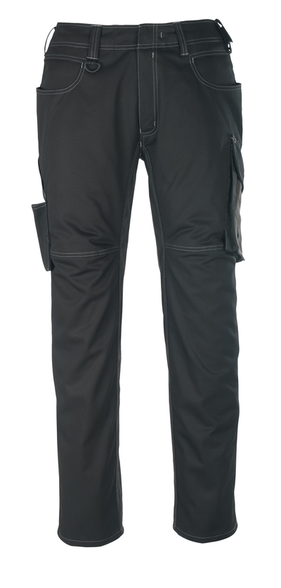 MASCOT® Oldenburg - svart/mørk antrasitt - Bukse, lav vekt