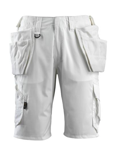 MASCOT® Olot - hvit - Håndverkershorts