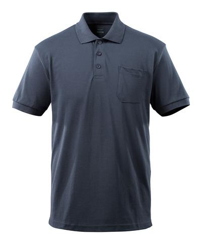 MASCOT® Orgon - mørk marine - Pikéskjorte, moderne passform, brystlomme