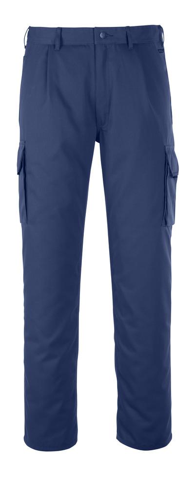 MASCOT® Orlando - marine - Bukser med lårlomme, god slitestyrke