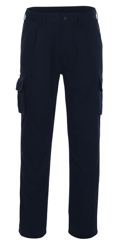 MASCOT® Pasadena - marine - Bukser med knelommer, lav vekt