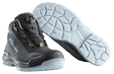 MASCOT® Petros - svart/antrasitt - Vernestøvler S3 med Boa®-lukkesystem