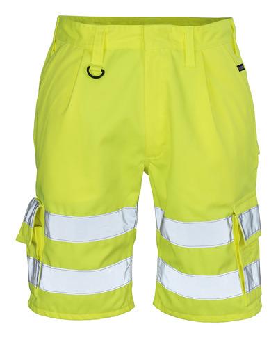 MASCOT® Pisa - hi-vis gul - Shorts, klasse 1