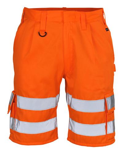 MASCOT® Pisa - hi-vis oransje - Shorts, klasse 1