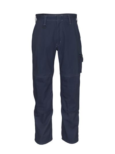 MASCOT® Pittsburgh - mørk marine - Bukser med knelommer, lav vekt