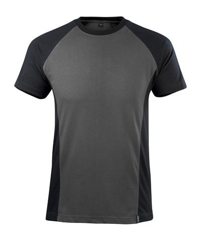 MASCOT® Potsdam - mørk antrasitt/svart - T-skjorte, moderne passform