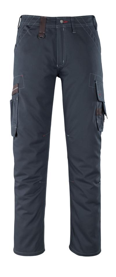 MASCOT® Rhodos - mørk marine - Bukser med lårlommer, lav vekt