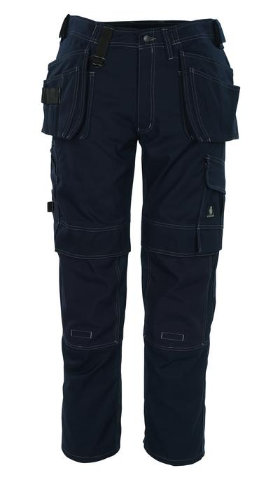 MASCOT® Ronda - marine - Bukser med CORDURA®-knelommer og hengelommer, god slitestyrke