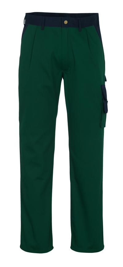 MASCOT® Salerno - grønn/marine* - Bukse, god slitestyrke