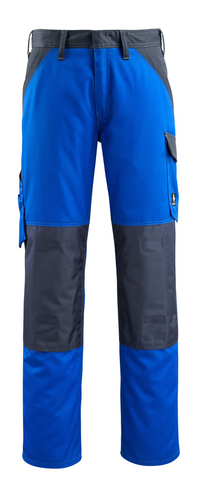 MASCOT® Temora - kobolt/mørk marine - Bukser med knelommer, lav vekt