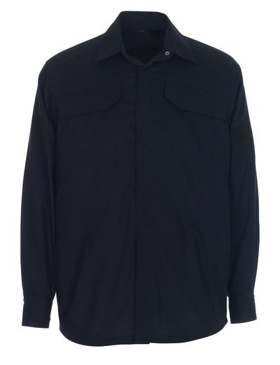 MASCOT® Ternitz - mørk marine - Skjorte, multisafe, moderne passform