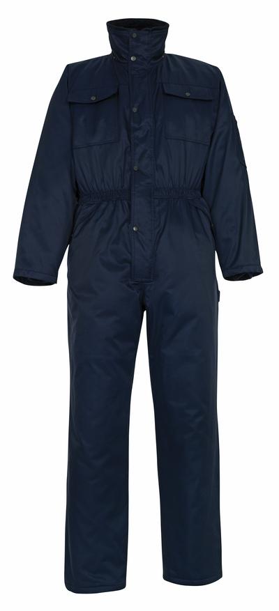 MASCOT® Thule - marine - Vinterkjeledress med pelsfôr, vannavvisende Bearnylon®