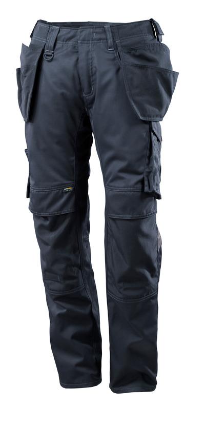 MASCOT® UNIQUE - mørk marine - Bukser med CORDURA® kne- og hengelommer, lav vekt