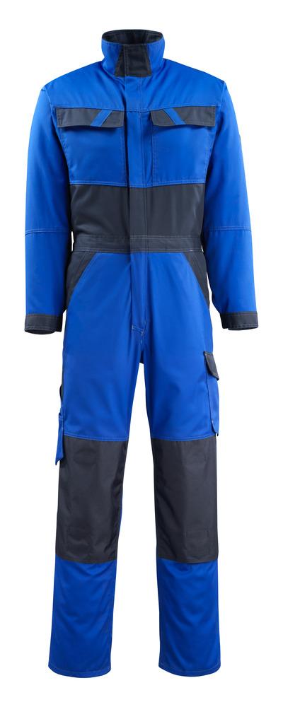 MASCOT® Wallan - kobolt/mørk marine - Kjeledress med knelommer, lav vekt