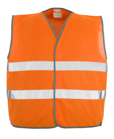 MASCOT® Weyburn - hi-vis oransje - Trafikkvest med borrelås, klasse 2